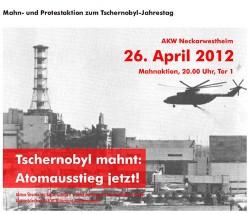 Tschernobyl-Jahrestag